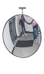 Convex Security Mirror With Adjustable Bracket