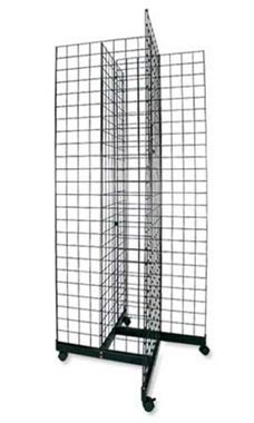 Black 4-Way Grid Towers - 6.5